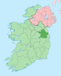 Map of County Meath
