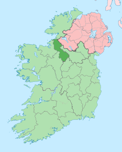 Map of County Leitrim