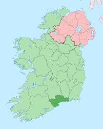 Co. Waterford in dark green