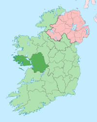 Map of County Galway