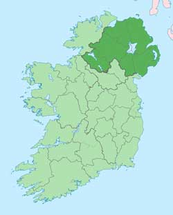 The 6 Counties of Northern Ireland
