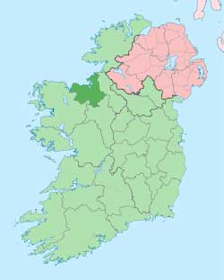 Map of County Sligo